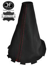 Manual De Costura Roja Cuero Polaina gear palo se ajusta Mazda 2 Mazda 2 2007-2009