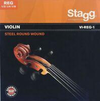 Stagg Violin String Set for 1/8 to 1/2 Size Violins