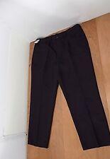 NEW Croft &  Barrow Mens Dress Pants Sz W 42 X 30 L Black 5 Pkts Flat Front NWT