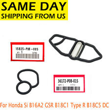 For Honda Si B16A2 GSR B18C1 Type R B18C5 DC Upper & Lower VTEC Solenoid Gaskets