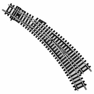 Hornby R8075 Right Hand Curved Points Track Pieces Single OO Gauge 1:76 Scale