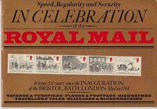 In Festeggiamento della Royal Mail Special TIMBRO Souvenir libro 1984
