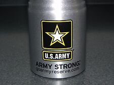 U.S. Military Army Strong 20oz Aluminum Sports Drink Fitness Workout Gym Bottle