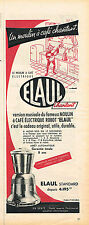 PUBLICITE ADVERTISING 045  1956  ELAUL   moulin a café éléctrique ROBOT