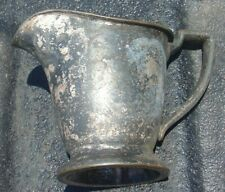 Vintage Lord Baltimore Hotel Silverplate Creamer Pitcher Baltimore Maryland Md
