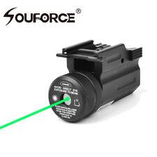 Hunting Green Dot Laser Sight Picatinny 20mm Rail QD Mount for Pistol Gun Rifle