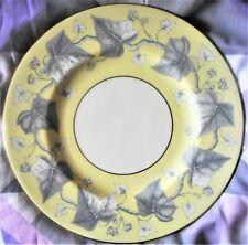 WEDGWOOD 'EMPIRE' YELLOW DINNER PLATE,  W3967, c.1950