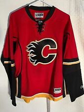 new style 894ca 93693 Reebok Calgary Flames Jersey NHL Fan Apparel & Souvenirs for ...
