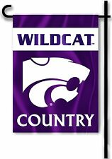 "Kansas State Wildcats 13"" x 18"" Two Sided Garden Flag (Wildcat Country) NCAA"