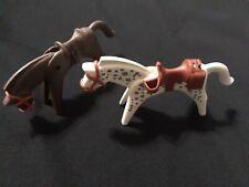 Vintage 1974 Playmobil Geobra Horse set of 2
