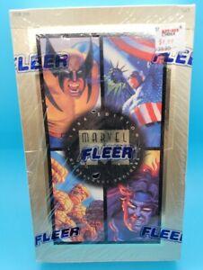 Marvel Masterpieces, 1994, Fleer, Hildebrandt, MCU, Factory Sealed