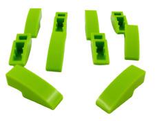 Lego 10 Pièce Tuiles en Béton 3x1 Courbé Lime (Lime) Bloc Incliné Arrondie 50950