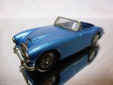 K & R REPLICAS KIT (built) ASUTIN HEALEY 3000 MK III - BLUE 1:43 - NICE