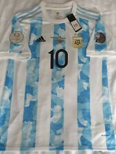 More details for argentina 2021 copa america final winners shirt #10 messi psg. (l) 44