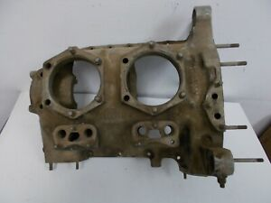 CONTINENTAL O-200 ENGINE CRANKCASE BA82873 CORE AS REMOVED AIRCRAFT