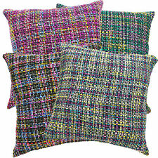 New Colorful Briad Pattern Cotton Blend Cushion Cover/Pillow Case Custom Size