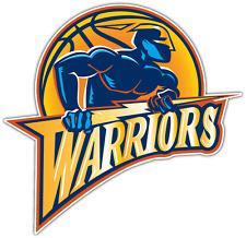 Golden State Warriors NBA Basketball Car Bumper Window Locker Sticker Decal