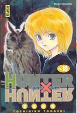 HUNTER X HUNTER tome 18 Togashi MANGA shonen