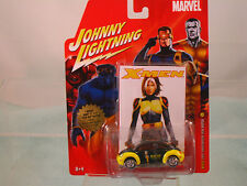 """2001 VW NEW BEETLE  """"ROGUE""""  X-MEN 1:64 MARVEL  BY Johnny Lightning WITH POSTER"""