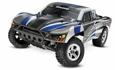 Traxxas 1/10 Slash 2wd RTR, Silver/Blue, 2.4ghz Radio, XL-5, No Battery/Charger