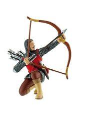Bullyland 80787 Bogenschütze rot 9 cm Welt der Ritter