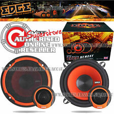 "Edge Audio ED305-E2 5.25"" inch 420w Car Door Component Speakers System Set"