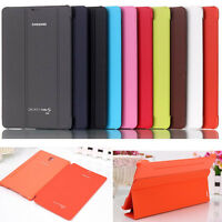 """New Ultra Slim Case Book Cover For Samsung Galaxy Tab S 8.4"""" SM-T700 T705 Tablet"""