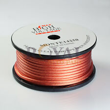 250ft 14 Gauge AWG Speaker Wire Cable Car Home Audio