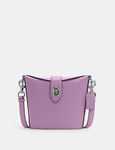 Coach C2814 Addie Crossbody Bag Purse Violet Orchid MSRP: $328.00