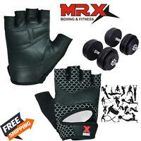 Fitness Gloves Weight Lifting Gym Training Workout Wrist Wrap Strap Men / Women