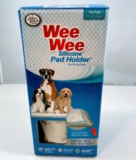 """WEE-WEE Products Silicone Pad Holder by Four Paws 22"""" x 23"""" Puppy Training"""