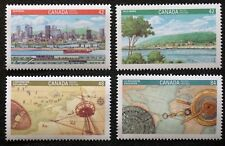 Canada Sc# 1404-1407  CITY OF MONTREAL history 350th ANNIVERSARY  1992  MINT MNH
