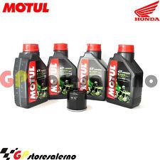 TAGLIANDO OLIO + FILTRO MOTUL 5100 15W50 HONDA 500 CB 2000