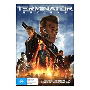 Terminator Genisys DVD Brand New Region 4 - Arnold Schwarzenegger - Free Post