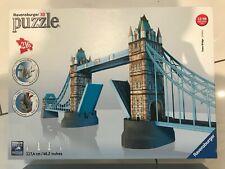 Ravensburger 3D Puzzle Tower Bridge, wie neu mit OVP & Anleitung