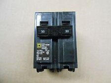 1 NEW SQUARE D HOM230 HOM CIRCUIT BREAKER 30A 30 AMP 2P 2 POLE 240V 240 VOLT