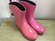 Muck Boots Pink Bergen Mid Wellies Size UK 8 EUR 42 BNWT
