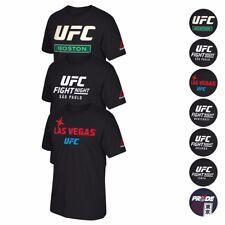 UFC Fight Night Event @ Various Main City Name  Print T-Shirt Collection Men's