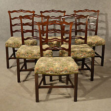 Genial Mahogany Dining Chairs Victorian Antique Furniture