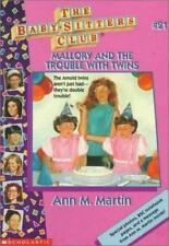 Mallory And The Trouble With Twins ( Baby-Sitters Club No. 21) Ann Martin PB