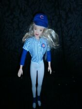 Chicago Cubs MLB Chicago Cubs Fan Barbie Doll - FREE SHIPPING