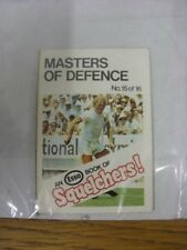 1970/1971 Esso: Squelchers - 15 Masters of Defence, An Esso Mini-Book 16 Issued