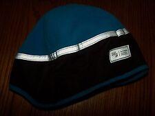 NWT GAP KIDS MOUNTAINEER FLEECE REFLECTIVE HAT BLUE ORANGE S/M or L/XL