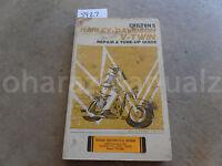 1959-1972 Harley-Davidson V-Twin Repair & Tune Up Guide Manual OEM