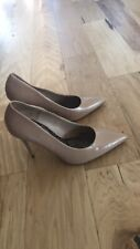 Zara High Heel Pumps Nude/taupe Sz 39