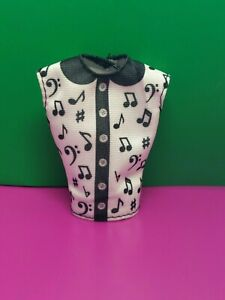 Barbie You Can Be Anything Music Teacher Career Fashion Music Note Doll Shirt