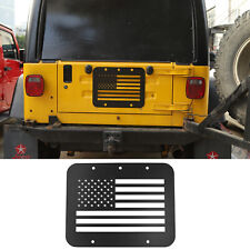 Car Tailgate Spare Tire Carrier Delete Filler Plate for Jeep Wrangler TJ 97-2006