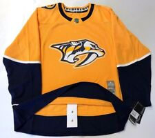 NASHVILLE PREDATORS size 50  Medium ADIDAS NHL HOCKEY JERSEY Climalite Authentic