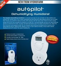 Autopilot Dehumidifying Humidistat 120v Plug IN 15A EASY TO USE, $$ BAY HYDRO $$