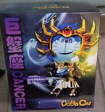 DoraCat Doraemon x Saint Seiya Gold Cancer Deathmask PVC Figure